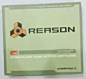 Propellerhead Reason Version 2.5 Stand Alone Music Station Software $24.95
