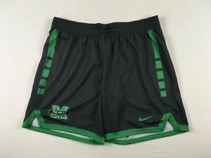 Marshall Thundering Herd Nike Shorts Womens Gray Poly Used XL $21.60