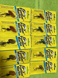 10 Panther Martin Spinners 1 4 Oz Trout Fishing Lure Spinner