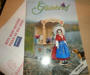 Gildebrief 1 2006 Dollmaking Antique Reproductions Dress Patterns French Lady $14.95