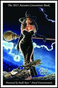 CAVEWOMAN CONVENTION BOOK 2015 AUTUMN MATURE SIGNED BY BUDD ROOT $15.00
