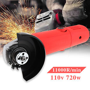 Electric Angle Grinder 4 1 2quot; 6 Amps 110V 720W For Cutting Grinding $21.99