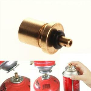 Gas Refill Adapter Outdoor Camping For Butane Tank Canister Stove Supplies