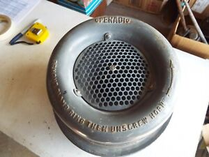 Vintage 1945 Operadio Battle Siren Horn U.S. Navy Lot 20 72 25