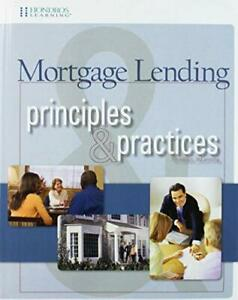 Mortgage Lending Principles Practices by Hondros Learning $297.95