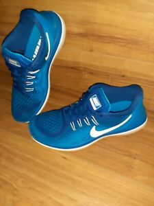 NIKE RUNNING FLEX 2017 Blue White Size 8 898457 403 $40.00