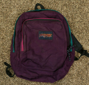Vintage Jansport Purple Backpack Made In USA $19.95