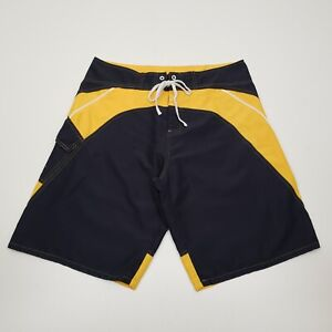 Corona Extra Men#x27;s Board Shorts Size XL Embroidered Dragon Blue Yellow