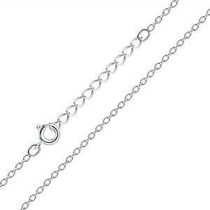 Solid 925 Sterling Silver Extendable Cable Chain Necklace for Pendants Charms AU $12.99