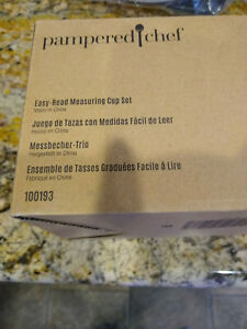 Pampered Chef Easy Read Measuring Cup Set #100193 Brand New In Box $20.25