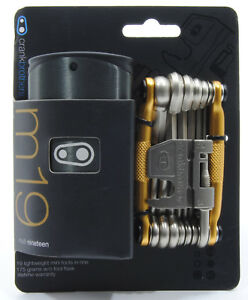 Crank Brothers M19 Bicycle Multi Tool and Flask Gold $25.73