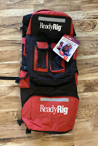 * New * Ready Rig Extra large Anglers Backpack detach Fishing Storage System