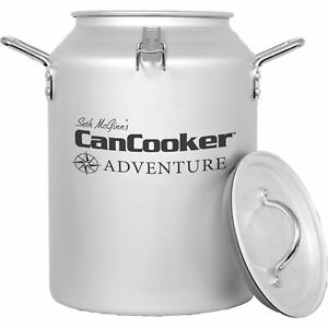 CanCooker Adventure Camping or At Home Convection Steam Cooker 4 Gallon Used