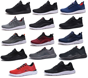 New Mens Running Athletic Shoes Casual Walking Gym Light Weight Sneakers $21.95