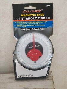 Dial Gauge Angle Finder Magnetic Protractor with Conversion Chart Polycast Weld $14.69