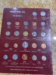 FAO Panel # 5 Food For All Money Collection Set F.A.O. Agriculture Organization $49.99