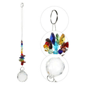 1pc Crystal Pendant Window Tree Exquisite Hanging Crystal $7.86
