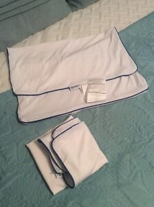 2pk Standard Size Pillow Protector Cover Case 20x26 Zippered Rust Proof Innocor $5.89