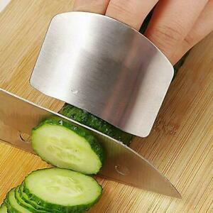 Kitchen Gadgets Stainless Steel Multi Purpose Anti Cutting Finger Guard $1.87