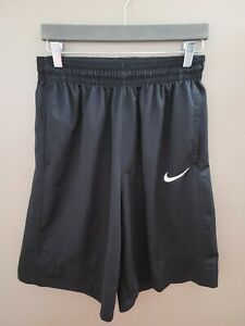 Mens Nike Shorts Athletic Basketball Training Shorts Size Medium Black Pockets $14.88