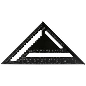 1 X Metric System Speed Square Protractor Miter Triangle Angle Square Ruler C $36.61