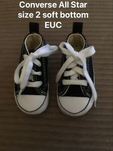 Converse All Star Size 2 Baby Shoes $8.00