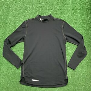 Under Armour Cold Gear Long Sleeve Turtle Neck Shirt Fitted Mens Sz Medium $29.95