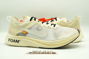 NIKE ZOOM FLY USED SIZE 15 OFF WHITE WHITE MUSLIN AJ4588 100