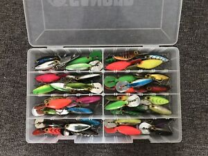 40 Storm Hot N Tot Lures With Case Free Shipping