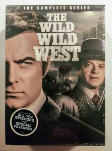 NEW WILD WILD WEST. THE COMPLETE SERIES 1 4. 26 DISC DVD BOX SET. SHIPS FREE $54.95