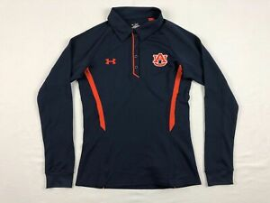 Auburn Tigers Under Armour Polo Womens Navy Orange New without Tags $12.49