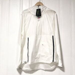Nike NFL The League On Field Pullover Jacket AH9241 100 White Men's Size XL $69.99