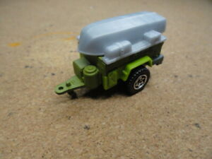 MATCHBOX CAMPING TRAILER AND BOAT