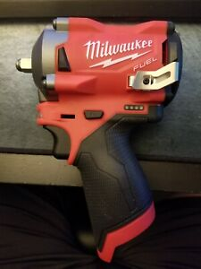 """NEW Milwaukee 2554 20 M12 Fuel 3 8"""" Stubby Impact Wrench Tool Only $150.00"""
