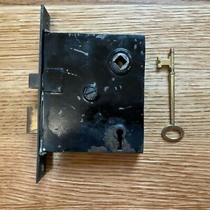 Antique Interior Mortise Lock Works With Key $40.00