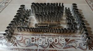 CRAFTSMAN Socket Set Hand tools 113Pc 1 43 81 2 SAEamp;MM ratchet wrench set new $140.00