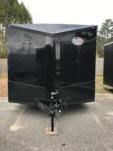 2021 8.5x20 Ft Enclosed Cargo Trailer *Blackout Spread Axle*