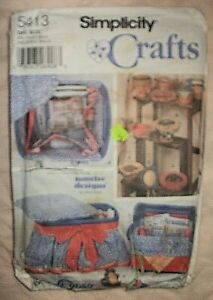 Unused pattern sewing boxes amp; pincushions Simplicity Crafts 2003 $5.00