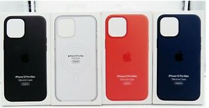Genuine Apple Silicone Soft Case with MagSafe for Apple iPhone 12 Pro Max 6.7quot;
