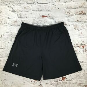Under Armour XL Loose Black Shorts Gym Running Sports Lightweight Quickdry Mens GBP 17.99