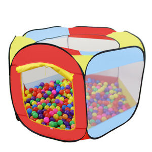 Portable High Six sided Play House Tent Color Camping Camping for Boys Girls
