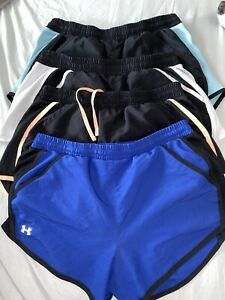 Set Of 4 Under Armour Shorts Women Size Small $44.99
