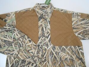 Orvis Mens Designer Long Sleeve Camo Hunting Shooting Shirt Small NEW $59