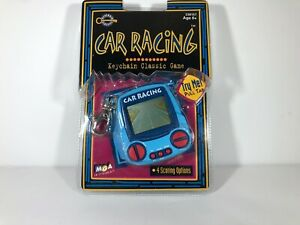 Vintage Keychain Classics Car Racing Electronic Game Light Blue New Sealed B7 $10.99