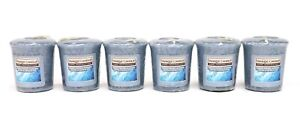 NEW Yankee Candle Home Inspiration Frosty Winter Morning 49g Votive Candle Set