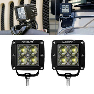 4inch 20W LED Cubic Pod Fog Lights Bar 4D Projector Lens For Truck Jeep ATV 4WD $33.99