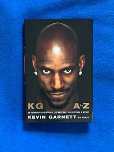 Kevin Garnett Autograph Signed Book KG: A To Z With David Ritz $69.69