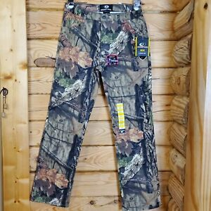 Mossy Oak Country Men#x27;s Size S 28 30 Camo 5 Pocket Hunting Pants Bottoms NWT