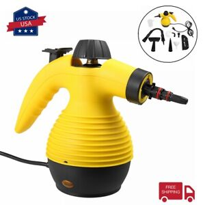 1050W Multi Steam Cleaner Portable Handheld Steamer for Household Car Cleaning