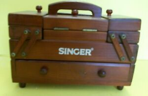 SINGER Sewing Basket Storage for Thread spools needles $39.99